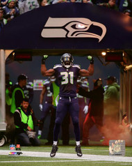 Unsigned 16x20 Photo #2 to be signed by Kam Chancellor **Requires Autograph Ticket To Be Signed*