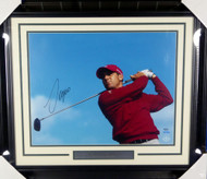 Sergio Garcia Autographed Framed 16x20 Photo LE #/100 UDA Holo Stock #146665