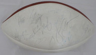 1985 Chicago Bears Multi Signed Autographed Football With 46 Signatures Including Walter Payton JSA #B61193