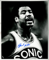 Paul Silas Autographed 8x10 Photo Seattle Supersonics MCS Holo #70191
