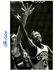 Paul Silas Autographed 8x10 Photo Seattle Supersonics MCS Holo #70193