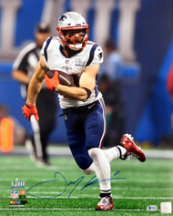 Julian Edelman Autographed 16x20 Photo New England Patriots Super Bowl LIII Beckett BAS Stock #147921