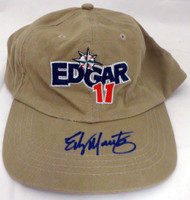 Edgar Martinez Autographed Hat Seattle Mariners MCS Holo #51228