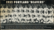 1951 Portland Beavers 6.5x11 Team Photo SKU #148066