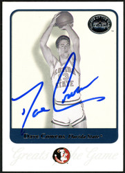 Dave Cowens Autographed 2001 Fleer Greats Of The Game Card #19 Florida State Seminoles SKU #148180