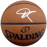 Giannis Antetokounmpo Autographed Official Spalding NBA Leather Basketball Milwaukee Bucks Beckett BAS Stock #148316