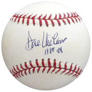 "Dave Niehaus Autographed Official MLB Baseball Seattle Mariners ""HOF 08"" Beckett BAS #H10425"