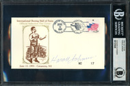 Harold Johnson Autographed First Day Cover Beckett BAS #11319328