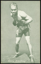 Henry Armstrong 1940's Exhibit Postcard SKU #151276