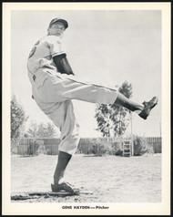 Gene Hayden 1956-59 Seattle Rainiers Popcorn 8x10 Premium Card SKU #151537
