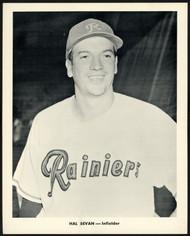 Hal Bevan 1956-59 Seattle Rainiers Popcorn 8x10 Premium Card SKU #151544