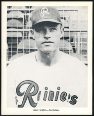 Gale Wade 1956-59 Seattle Rainiers Popcorn 8x10 Premium Card SKU #151554
