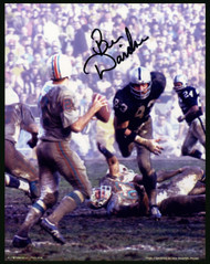 Ben Davidson Autographed 8x10 Photo Oakland Raiders Signed In Black Stock #152426