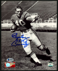 """Howard """"Hopalong"""" Cassady Autographed 8x10 Photo Detroit Lions Beckett BAS Stock #152899"""