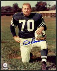 Art Donovan Autographed 8x10 Photo Baltimore Colts Stock #152909