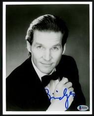 Jeff Bridges Autographed 8x10 Photo Actor Beckett BAS #H44382