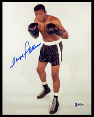 Floyd Patterson Autographed 8x10 Photo Beckett BAS Stock #153167