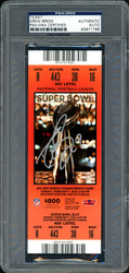 Drew Brees Autographed Super Bowl XLIV Ticket New Orleans Saints PSA/DNA #83971796