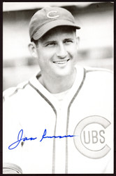 Jack Russell Autographed 3.5x5.5 Postcard Chicago Cubs SKU #153944