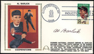 Al Barlick Autographed First Day Cover Umpire SKU #154016