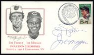 Joe Morgan & Jim Palmer Autographed First Day Cover SKU #154021