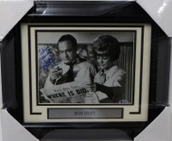 "Bob Hope Autographed Framed 8x10 Photo ""Warm Regards"" Beckett BAS #A62896"