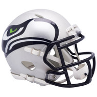 Seattle Seahawks Unsigned AMP Alternate Revolution Speed Mini Helmet Stock #154960