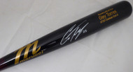 Gleyber Torres Autographed Black Marucci Game Model Baseball Bat New York Yankees Beckett BAS Stock #154967
