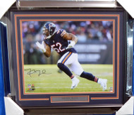 Khalil Mack Autographed Framed 16x20 Photo Chicago Bears Beckett BAS Stock #155000