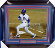 Sammy Sosa Autographed Framed 16x20 Photo Chicago Cubs Beckett BAS Stock #155013