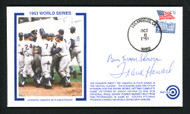 "Bill ""Moose"" Skowron & Frank Howard Autographed First Day Cover 1963 World Series SKU #156402"