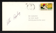 Luke Appling Autographed 3.5x6.5 Postal Cover Chicago White Sox SKU #156633