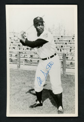Al Smith Autographed Team Issued 3.5x5.5 Postcard Cleveland Indians SKU #156691