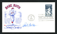 Bob Feller Autographed First Day Cover Cleveland Indians SKU #156826