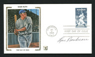 Lou Boudreau Autographed First Day Cover Cleveland Indians SKU #156831