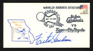 Tito Landrum Autographed First Day Cover St. Louis Cardinals 1985 World Series SKU #157203