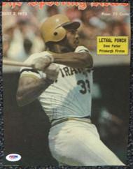 Dave Parker Autographed Newspaper Photo Pittsburgh Pirates PSA/DNA #T19844