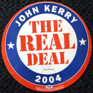 John Kerry Autographed Political Sign PSA/DNA #T14702