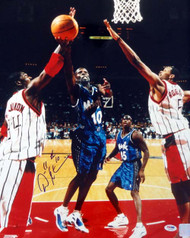 Adonal Foyle Autographed 16x20 Photo Orlando Magic PSA/DNA #S76704