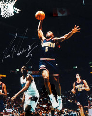 Ron Mercer Autographed 16x20 Photo Denver Nuggets PSA/DNA #T14411