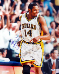 Sam Perkins Autographed 16x20 Photo Indiana Pacers PSA/DNA #T14437
