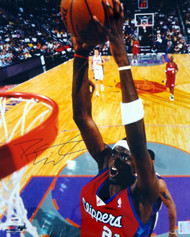 Darius Miles Autographed 16x20 Photo Los Angeles Clippers PSA/DNA #T14442