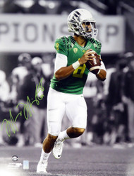 Marcus Mariota Autographed 16x20 Photo Oregon Ducks MM Holo #16125