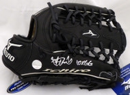 "Ichiro Suzuki Autographed Mizuno Game Model Fielding Glove ""10X GG"" Seattle Mariners IS Holo Stock #157350"