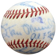 1950 Spring Training Autographed Official NL Baseball With 21 Total Signatures Including Stan Musial Beckett BAS #A52628