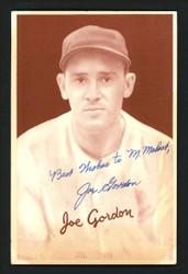 "Joe ""Flash"" Gordon Autographed 1939 Goudey Rookie Card New York Yankees ""Best Wishes"" JSA #BB31601"