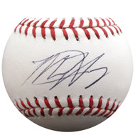 Matt Harvey Autographed Official MLB Baseball New York Mets, Los Angeles Angels MLB Holo #HZ670407