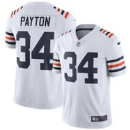 Walter Payton Unsigned Chicago Bears White Twill Nike Size XXL Stock #158823