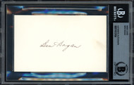 Ben Hogan Autographed 3x5 Index Card Beckett BAS #11612164