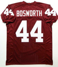 Oklahoma Sooners Brian Bosworth Unsigned Red Jersey For Upcoming Signing
